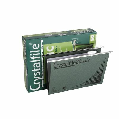 Crystalfile Suspension File Foolscap Classic Complete - 50 Pack