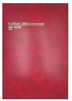Collins 3880 A4 Account Book Day Book - 10849