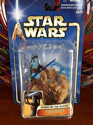 star wars AAYLA SECURA - ATTACK OF THE CLONES action figure - '02#11 - 2002