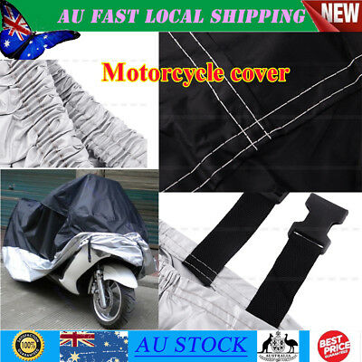 XXL Motorcycle Waterproof L Outdoor Vented Motor Bike Scooter Dust Rain Cover