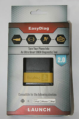 Launch EasyDiag 2.0 Bluetooth Diagnostic For IOS And Android Engine ABS Airbag