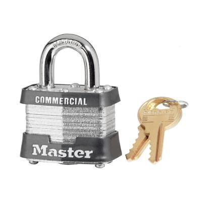 Master Lock 3KA 0356 Commercial Grade Laminated Keyed Alike Padlock