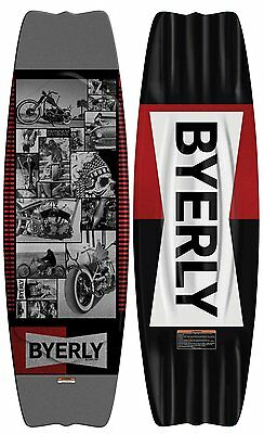 """NEW $450 RARE Byerly Blunt 53"""" Wakeboard adult water skiing unisex mens womens"""