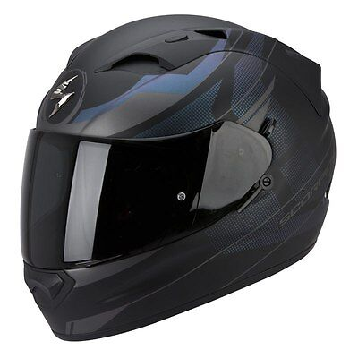 Casque Integral Scorpion Exo-1200 Air Fulmen Noir Mat/cameleon