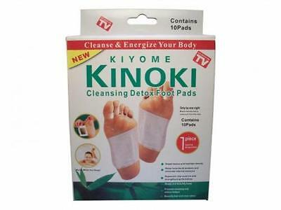 DETOX FOOT PADS Kiyome KINOKI Remove Body Toxins WEIGHT LOSS stress relief