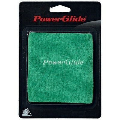 Powerglide Cue Towel Green Snooker Accessory