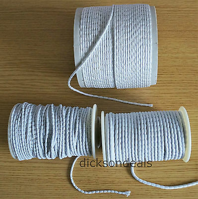 Lead Weight Curtain Lining Cord Tape 25 50 & 100g gram options choose 1m 2m 5m