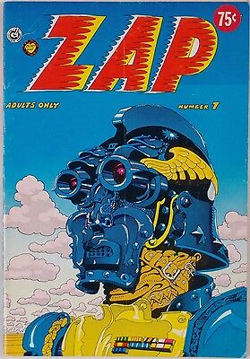 ZAP #7: 2nd Printing 75 Cent Cover ROBERT CRUMB Comic Book Nice Shape