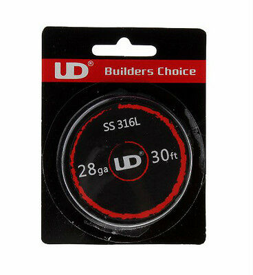 UD Stainless Steel 316L Resistance Wire - 10M Spool