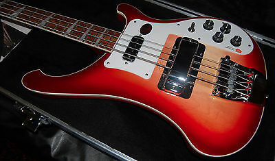 Rickenbacker 4003 FireGlo Bass Mint Condition OHSC RICK OHSC Hard to Find!