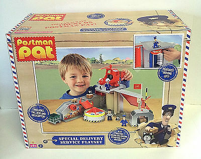 Postman Pat - Special Delivery Service Playset  Deluxe SDS Sorting Office & More