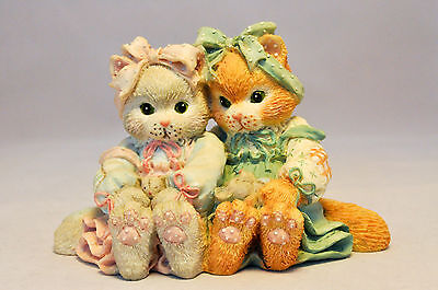Calico Kittens: We're A Purr-fect Pair - 627925 - Kittens With Mice Figurine