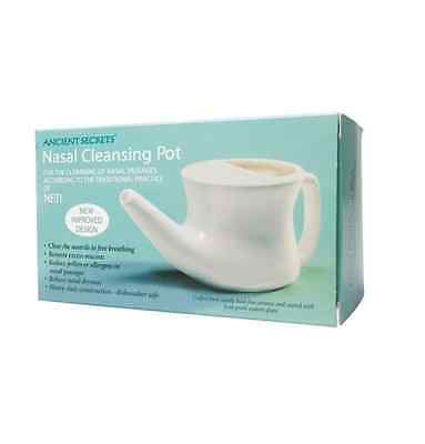 ANCIENT SECRETS Neti Pot - Nasal Cleansing Pot