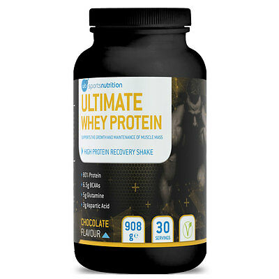 WBP Ultimate Whey - High Protein Shake for Men, Quick Recovery & Muscle Gain