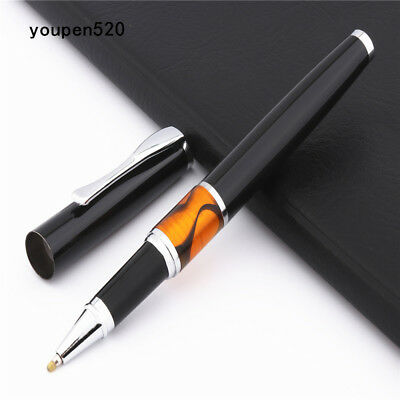 Luxury quality Jinhao Black Business office Medium Nib Rollerball Pen New
