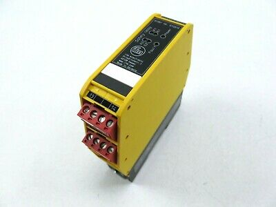 IFM G1501S Safety Switch Gear  Safety Relay