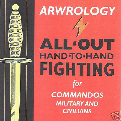 CD - ARWROLOGY Hand to Hand Combat - Self Defence -  eBooks (Resell Rights)