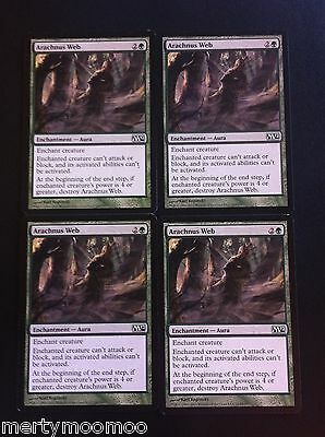 Card x4 MTG - Arachnus Web - Magic 2012 1st Class Post BUY 3 SAVE 25%