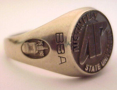 2003 Austin Peay State University 10K Mans Class Ring, BBA Degree, Solid Gold
