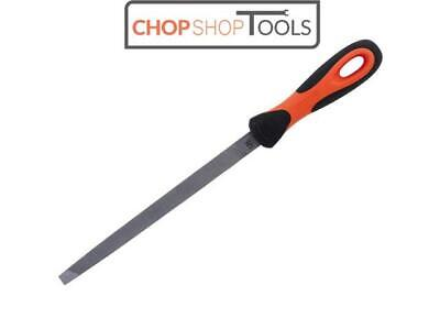 Bahco Handled Three Square Second Cut File 1-170-08-2-2 200mm (8in) BAH17082H