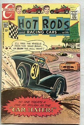 Hot Rods And Racing Cars #105-1970 fn Charlton / Jack Keller
