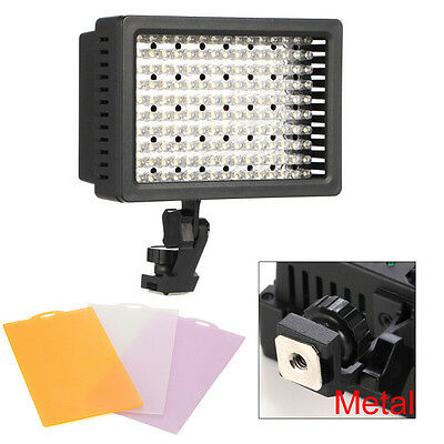 HD-160LED Video Light Camcorder Lighting Lamp For Canon Nikon Pentax DSLR Camera
