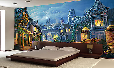 Victorian London Wall Mural Photo Wallpaper GIANT DECOR Paper Poster Free Paste