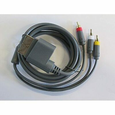 Composite AV Cable For Microsoft By Mars Devices For Xbox 360 A/v