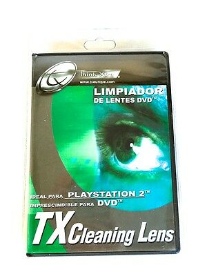 Limpiador de lente Tx cleaning lens ideal para Playstation 2 Xbox Dvd Vcd