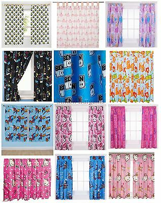 Children's Novelty or Character Curtains - BNIP