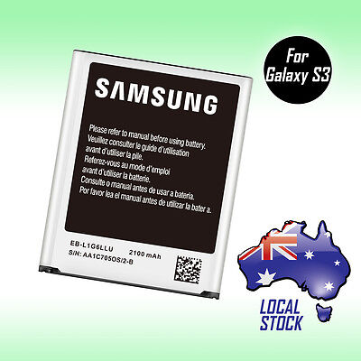 Brand New Genuine OEM Battery for Samsung Galaxy S3 SIII i9300 i9305 2100mAh