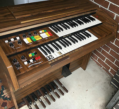 FULLY WORKING Kawai ElectroChord Bass II Combo Organ Vintage Retro Piano