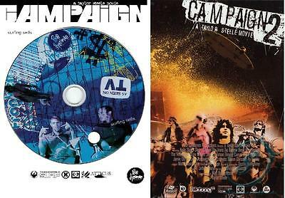 CAMPAIGN 1 and 2 - Special Two DVD (4 disc) Pack - Taylor Steele Film - SURF DVD