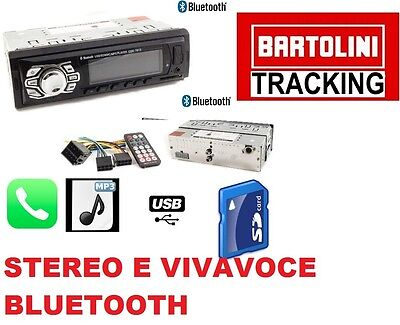 Stereo Auto Bluetooth Autoradio Vivavoce Radio Fm Mp3 Usb Aux Sd Card  X 4