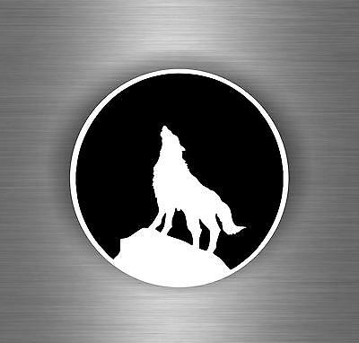 Autocollant sticker voiture moto tuning loup wolf decoration chambre r1
