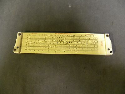 Vintage Fredrick Post Slide Rule Sliderule No. 1442 Made In USA