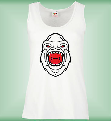 Mujer Chaleco Slim - Angry Gorilla - Awesoem Funny Ladies Vest