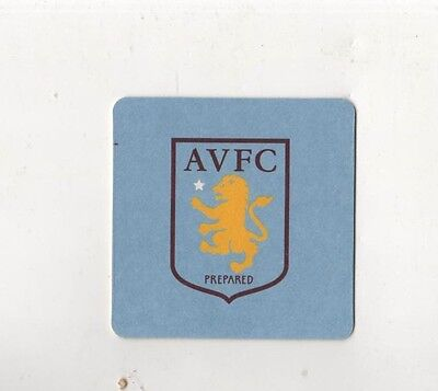 Aston Villa Football Club pack of Official Beer Mats New logo FREE POSTAGE UK