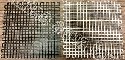MARINE EGG CRATE 300mm x 300mm, INTERLOCKING, WHITE or BLACK, FILER POND AQUARIU