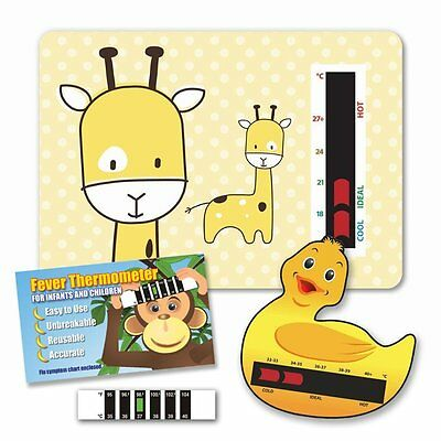 Baby & Child Thermometer Pack - Giraffe Room, Duck Bath & Baby Forehead