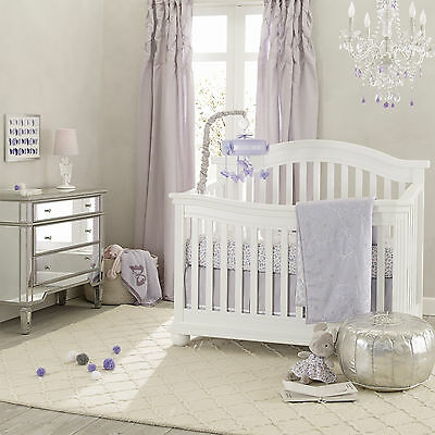 Lambs & Ivy Signature French Lavender 4 Piece Set