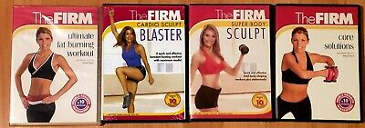 (5) The FIRM Workouts ON 4 DVD's Bootcamp +Total + FREE Health & Fitness Bonuses