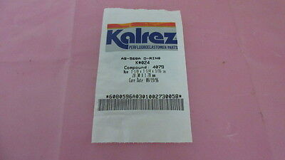 Kalrez AS-568A, K-024, Compound 4079, 1-/8x1-1/4x1/16 in, Seal, O-Ring. 328894