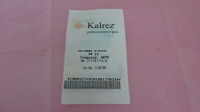 Kalrez AS-568A, K-14, Compound 4079, 1/2 x 5/8 x 1/16 IN, Seal, O-Ring. 328895