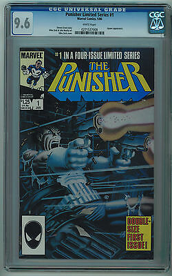 Punisher #1 Cgc 9.6 Limited Series 2Nd Best Cgc Grade White Pages Copper Age