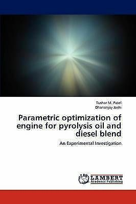 Parametric optimization of engine for pyrolysis oil  and diesel blend: An Experi