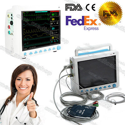 "ICU CCU 12"" Patient Monitor 6 parameter Medical Patient Monitor,2-6 days arrive"
