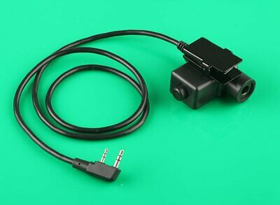 Z-Tactical U94 PTT Military Adapter PTT for KENWOOD TYT F8 BAOFENG 5R RADIO 2PIN