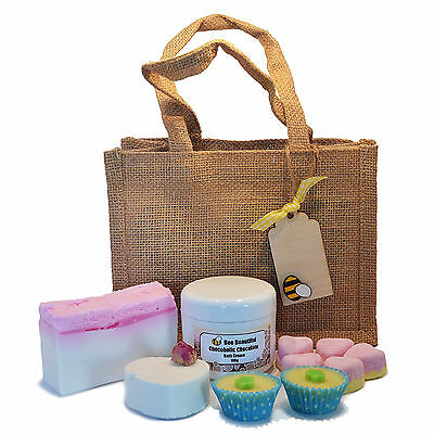 Sweet Treats Gift Bag - Bath Bombs, Smoothie, Soap, Shower Cream, Melt