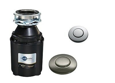 InSinkErator Model 45AS+ Sink Waste Disposer with Air Switch